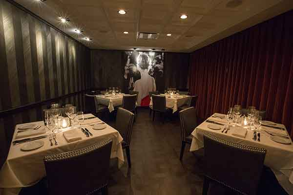 Private event space in Steak 48