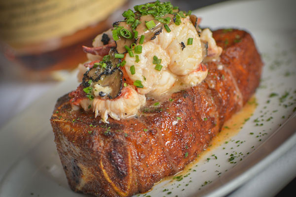 NY Strip with Lobster Topper